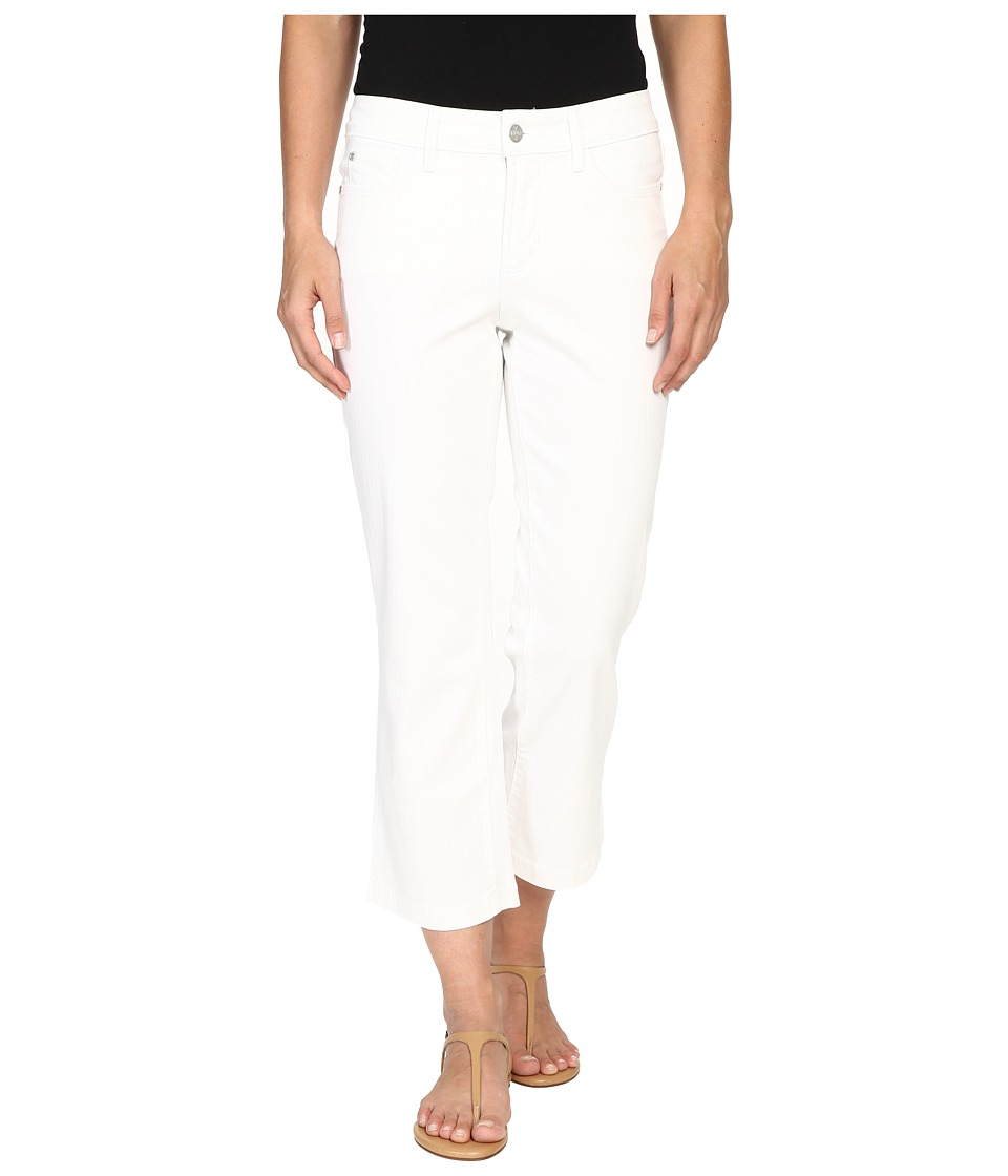 NYDJ - Sophia Flare Ankle (Spotless White) Women's Casual Pants