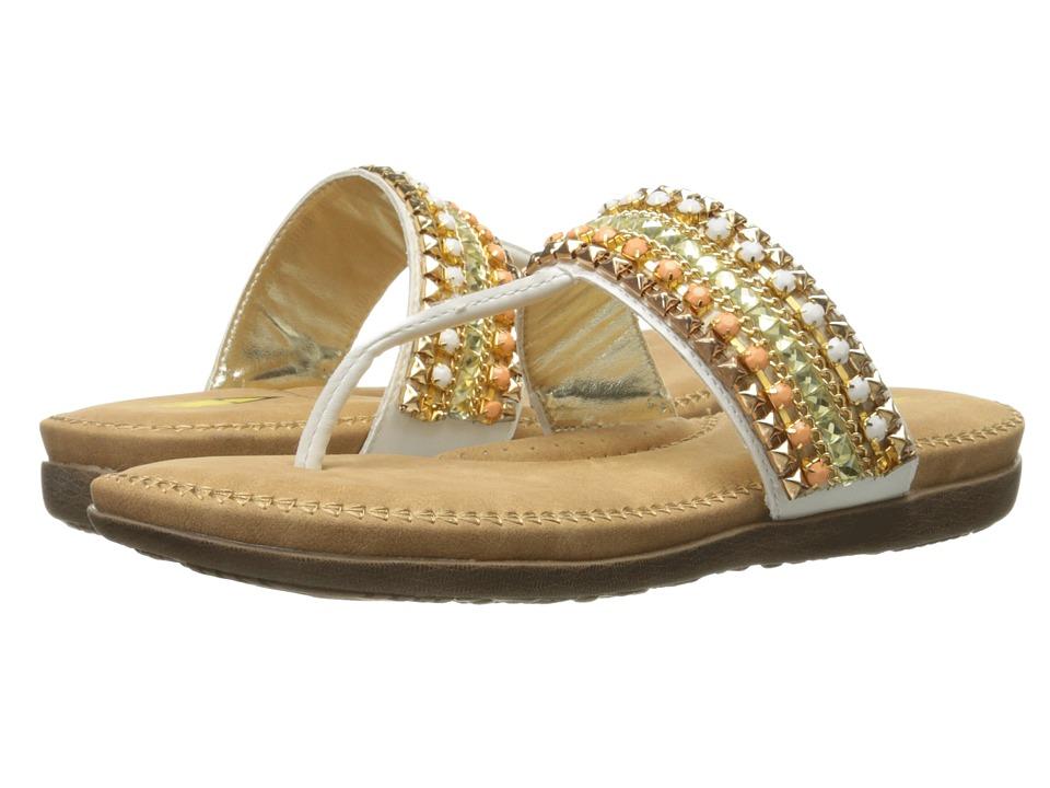 VOLATILE - Francine (White) Women's Sandals
