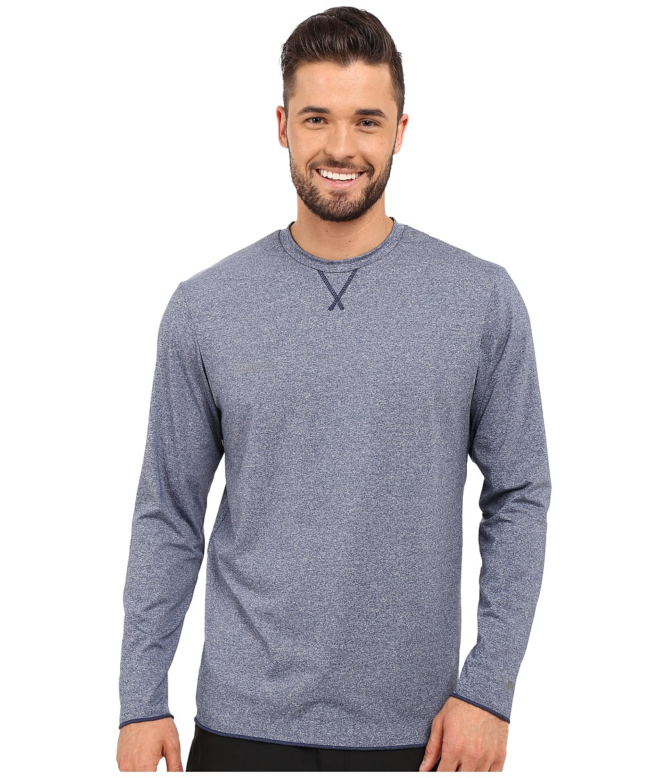 O'Neill - 24-7 Hybrid Long Sleeve Crew (Navy) Men's Swimwear