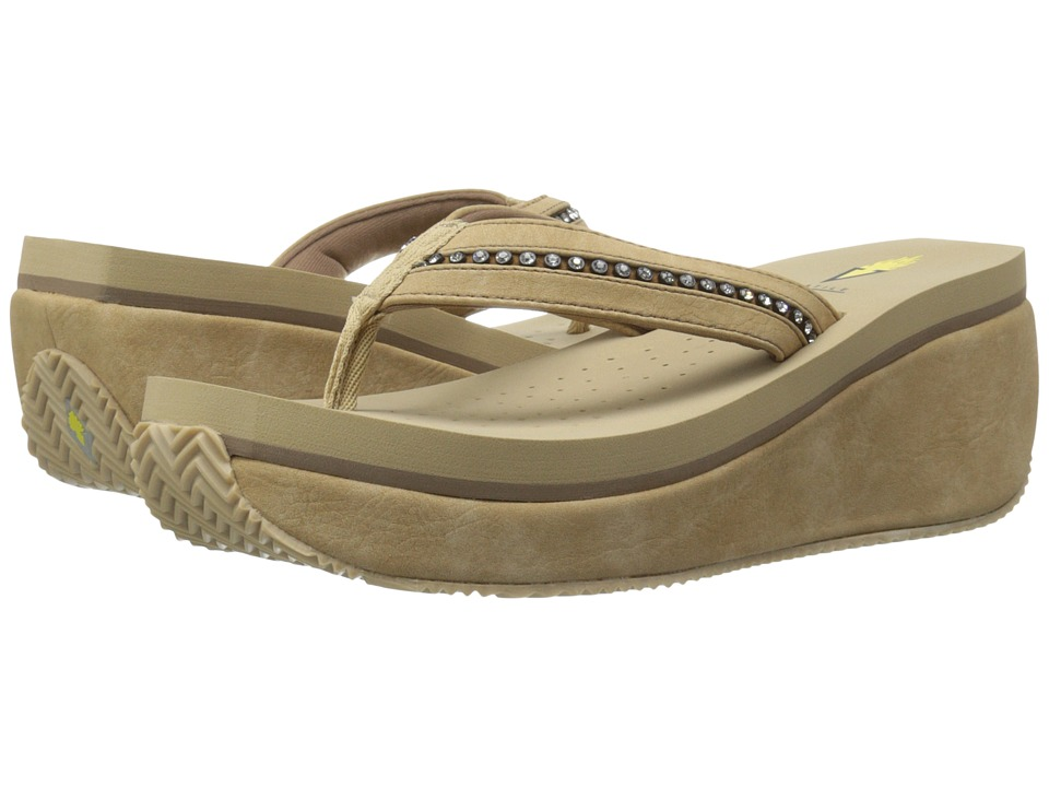 VOLATILE - Nellore (Natural) Women's Wedge Shoes