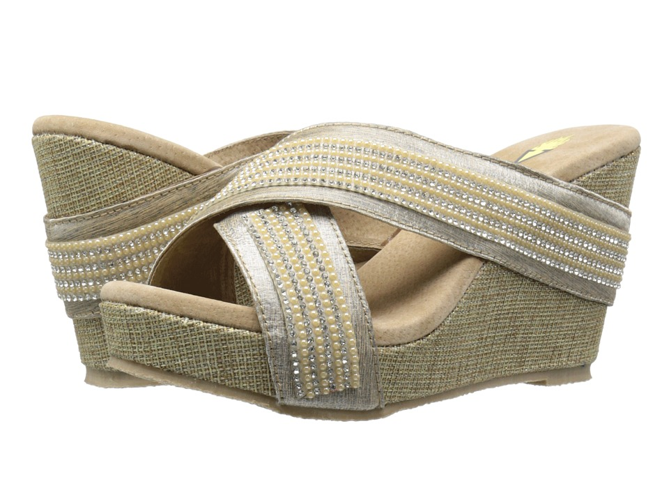 VOLATILE - Kittery (Champagne) Women's Wedge Shoes