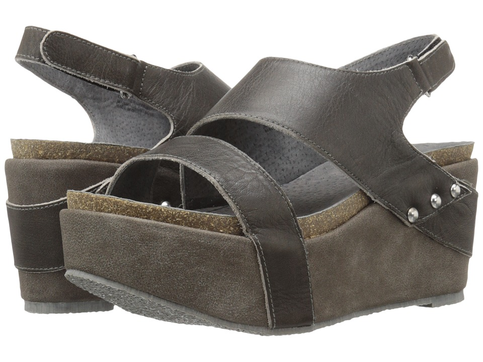 VOLATILE - Janey (Charcoal) Women's Wedge Shoes