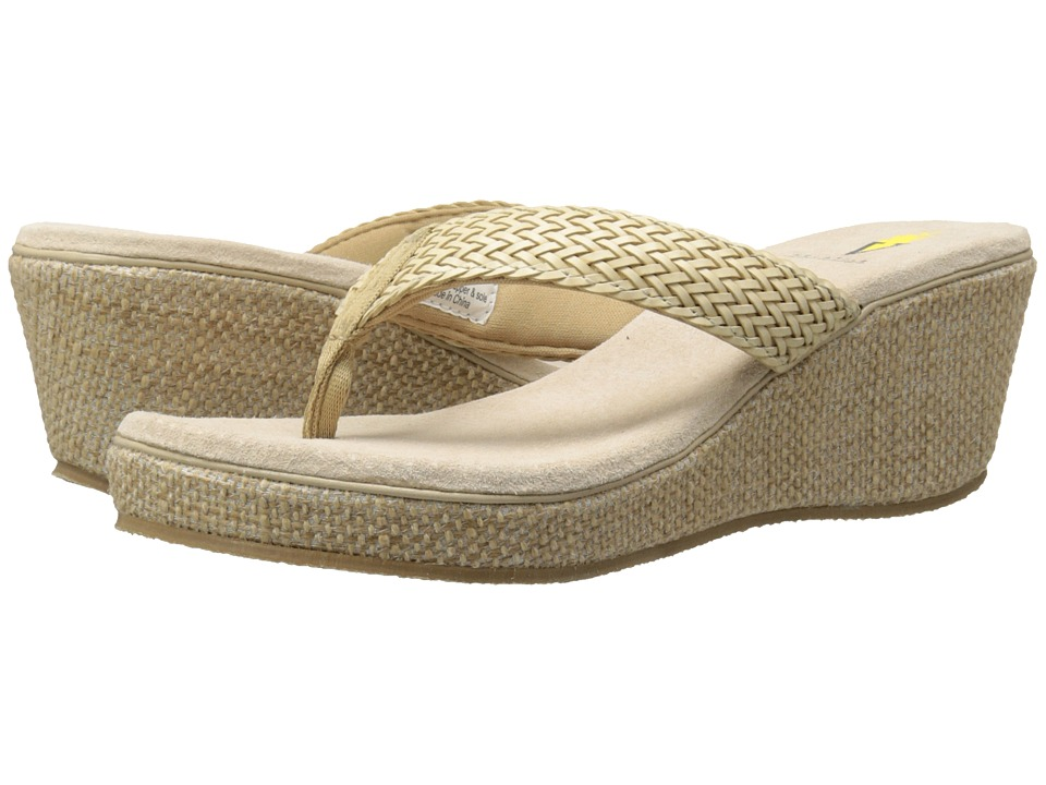 VOLATILE - Orson (Beige) Women's Wedge Shoes