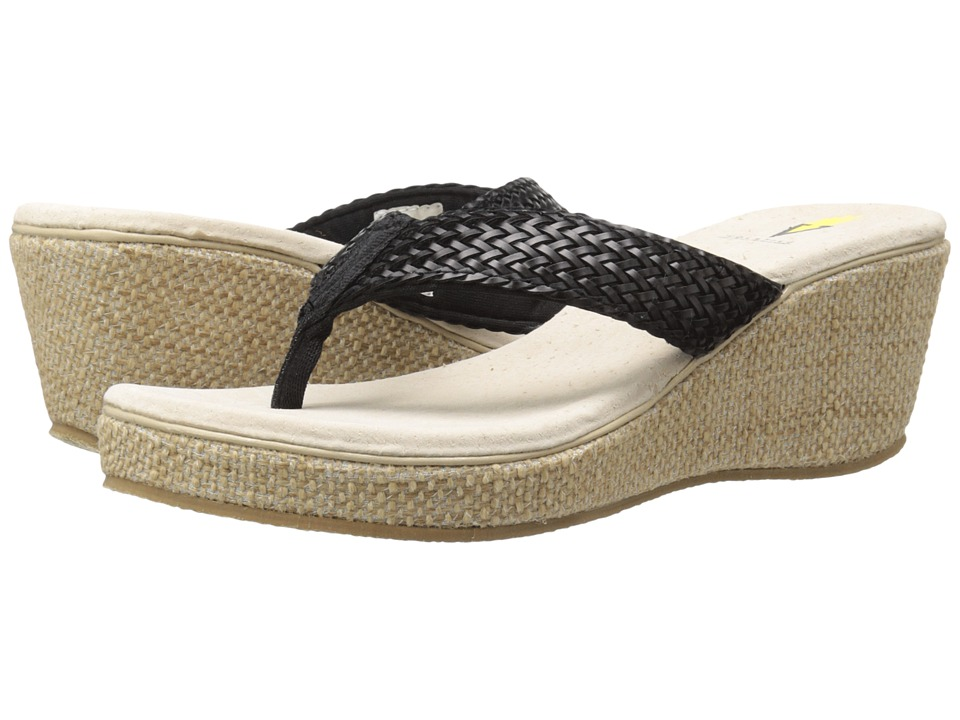 VOLATILE - Orson (Black) Women's Wedge Shoes