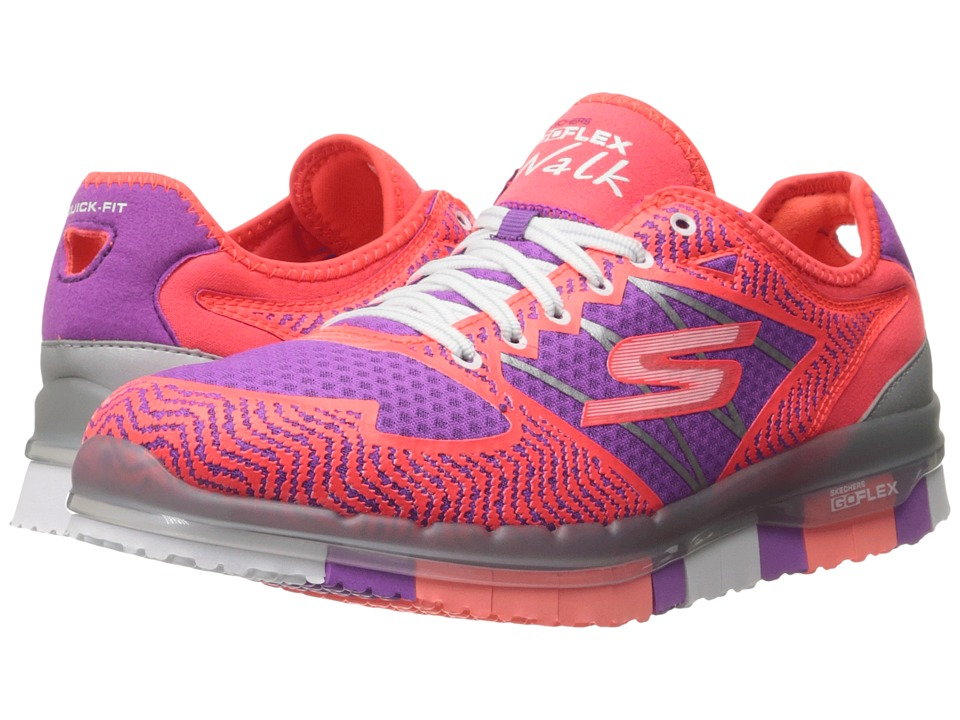 SKECHERS Performance - Go Flex - Momentum (Hot Pink/Purple) Women's Lace up casual Shoes