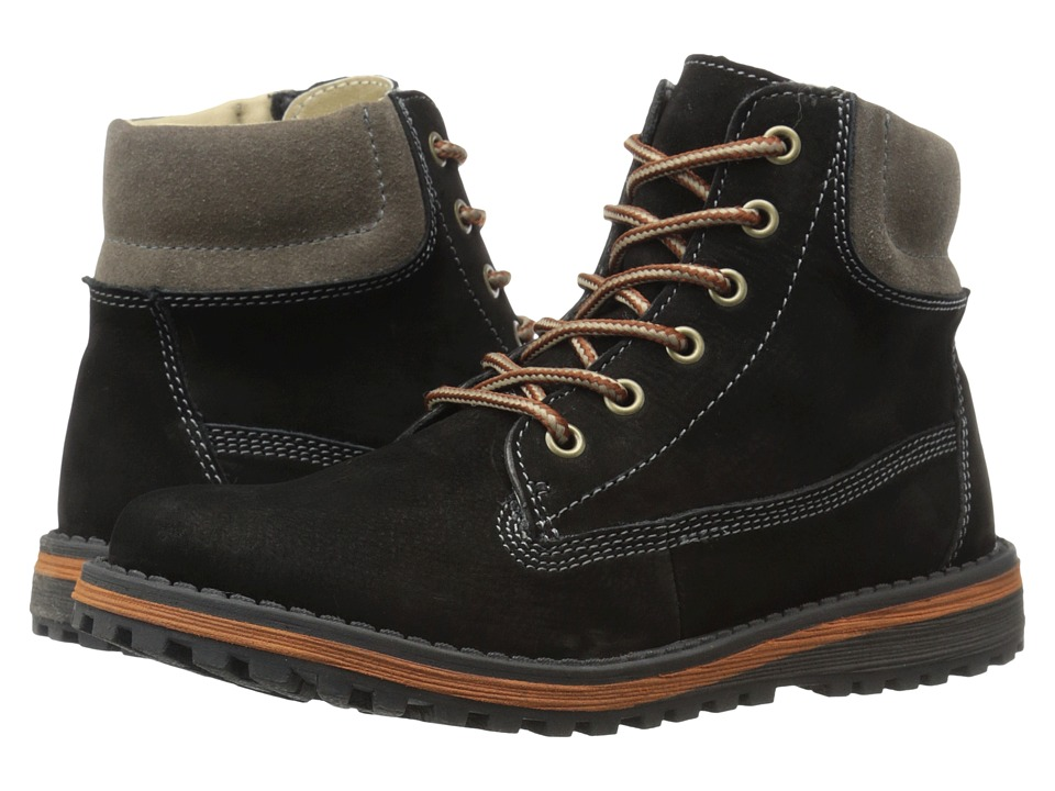 Umi Kids - Davis III (Big Kid) (Black) Boy's Shoes