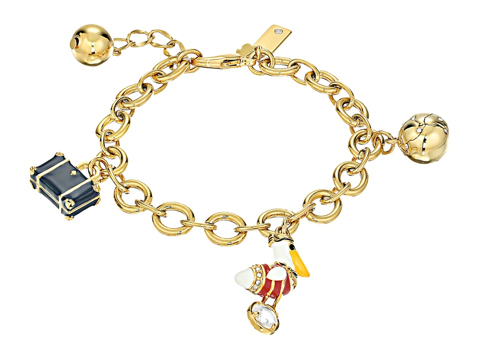 Kate Spade New York - How Charming Travel Charm Bracelet (Multi) Bracelet
