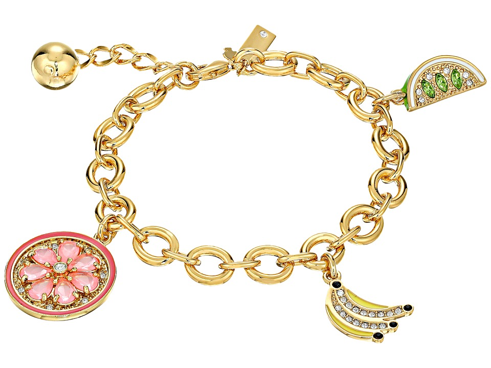 Kate Spade New York - How Charming Fruit Salad Charm Bracelet (Multi) Bracelet