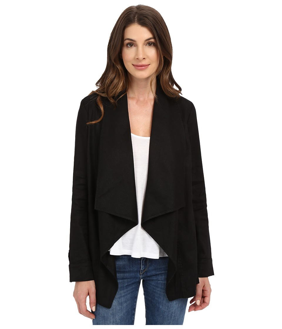 NYDJ - Stretch Linen Jacket (Black) Women's Jacket