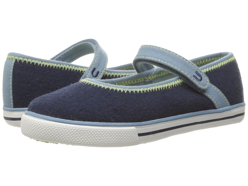Umi Kids - Hana C (Toddler/Little Kid) (Blue) Girls Shoes