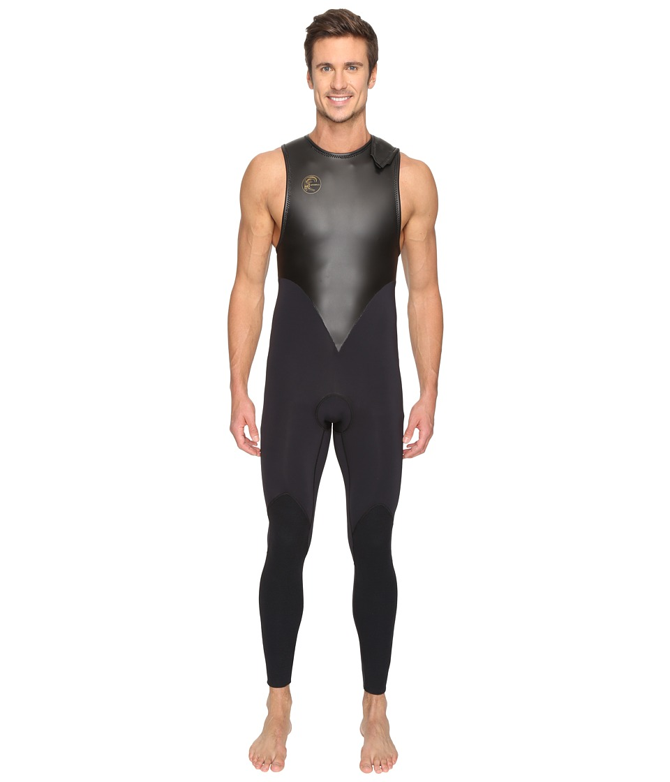 O'Neill - O'Riginal GBS 3mm John (Black/Black) Men's Wetsuits One Piece