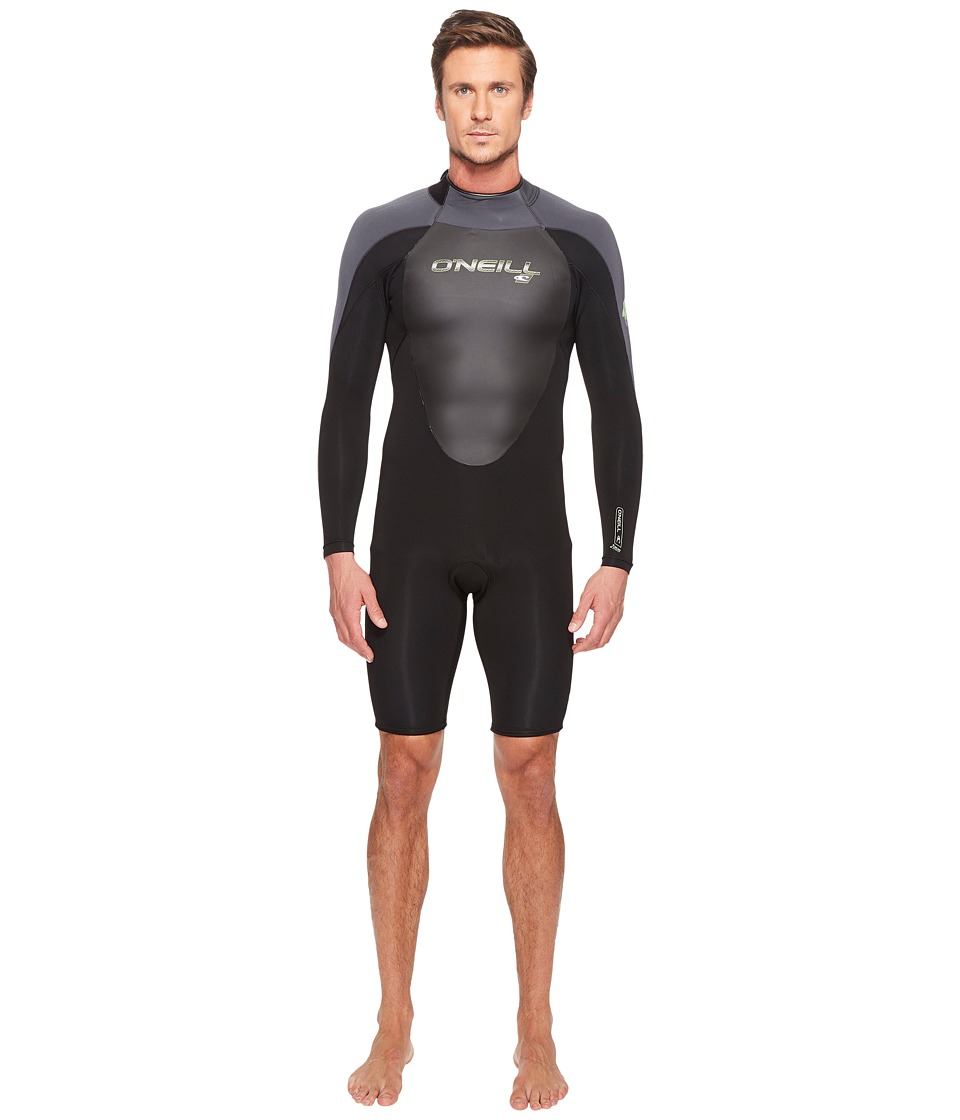 O'Neill - EPIC 2mm Long Sleeve Spring (Black/Black/Graphite) Men's Wetsuits One Piece