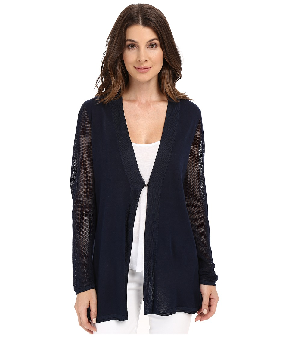 NYDJ - Summer Cardigan (Champion Navy) Women's Sweater