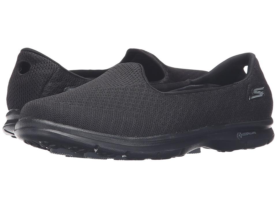 SKECHERS Performance - Go Step - Elated (Black) Women's Slip on Shoes