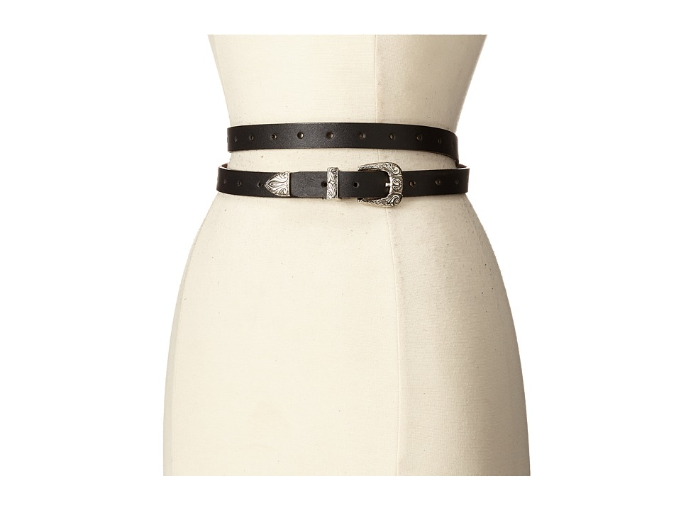 ADA Collection - Bina Belt (Black/Silver) Women's Belts
