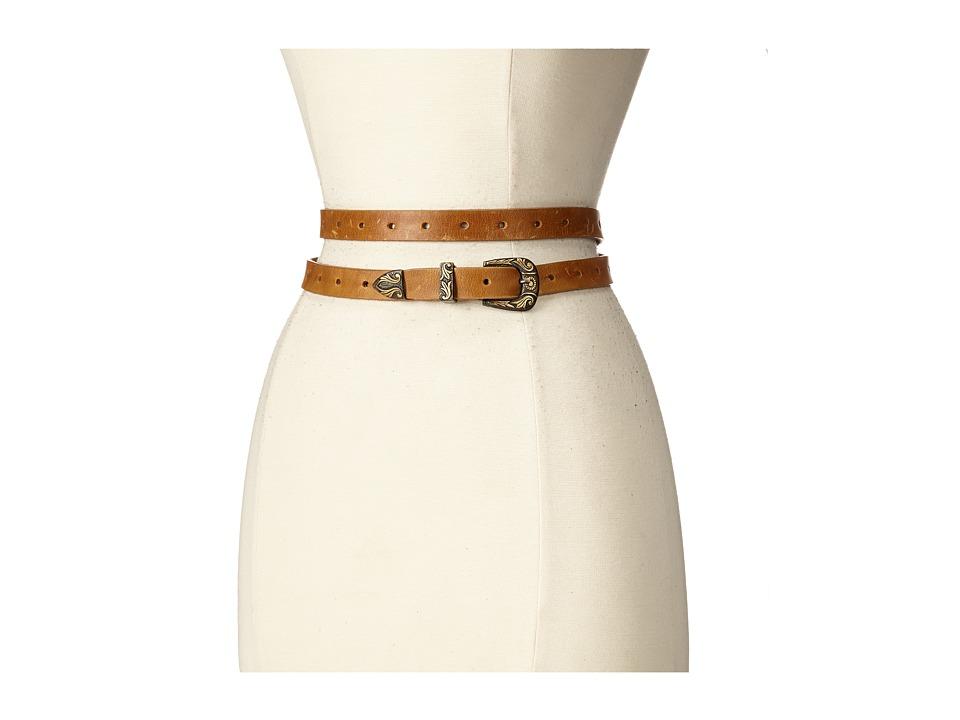 ADA Collection - Bina Belt (Tan/Bronze) Women's Belts