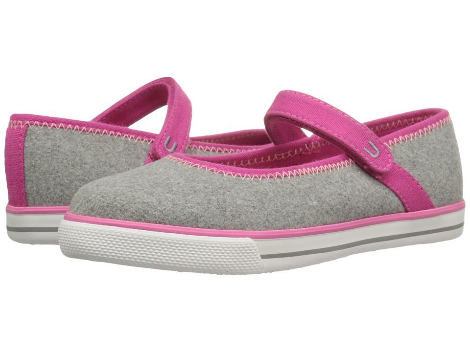 Umi Kids - Hana C II (Little Kid/Big Kid) (Gray Wool) Girls Shoes