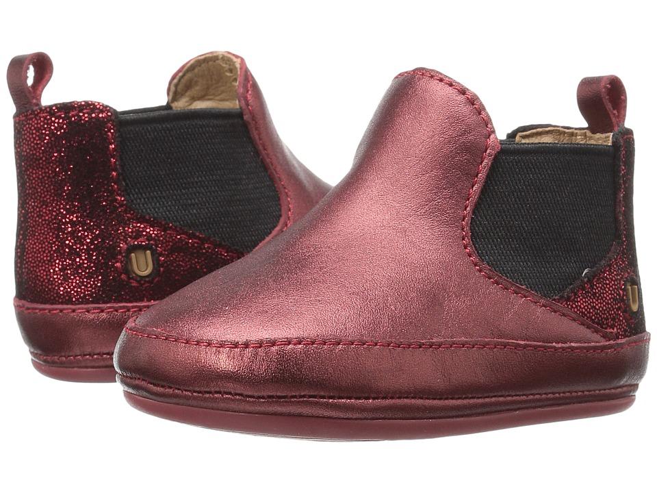 Umi Kids - Haydon (Infant/Toddler) (Burgundy) Kids Shoes