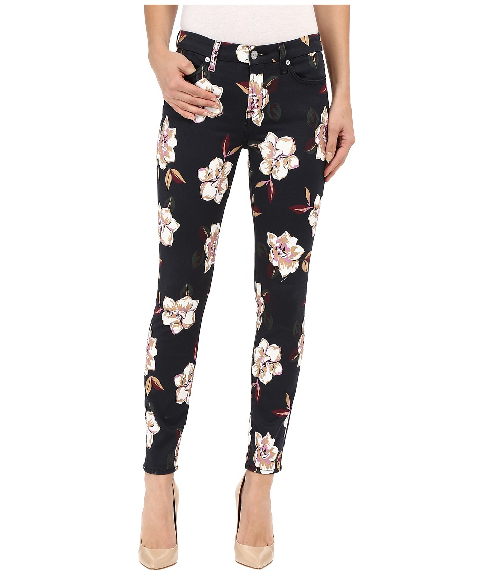 7 For All Mankind - The Ankle Skinny with Contour WB in Calypso Floral (Calypso Floral) Women's Jeans