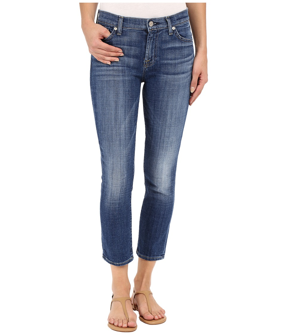 7 For All Mankind - The Capris in Athens Broken Twill (Athens Broken Twill) Women's Jeans