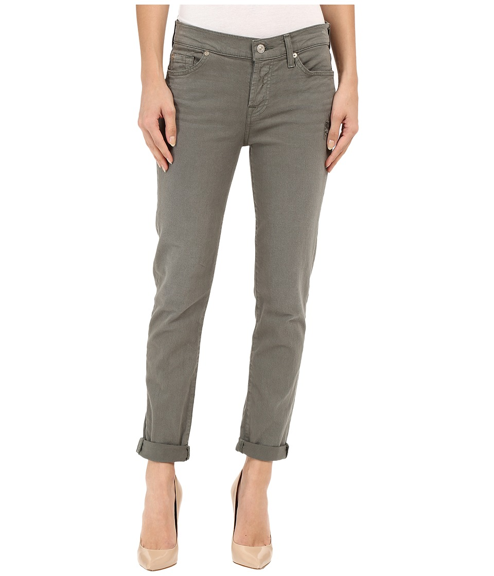 7 For All Mankind - Josefina with Rolled Hem in Fatigue (Fatigue) Women's Jeans