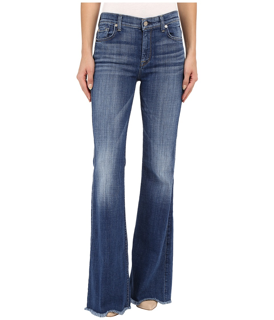 7 For All Mankind - Tailorless Ginger with Raw Hem in Athens Broken Twill (Athens Broken Twill) Women's Jeans