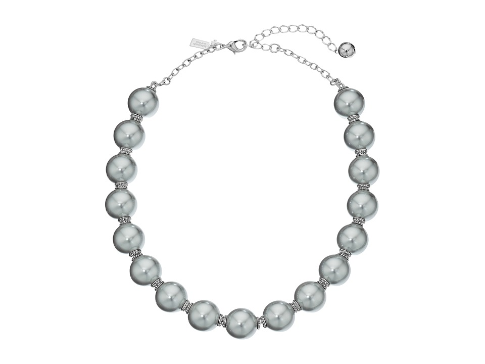 Kate Spade New York - Pearls of Wisdom Necklace (Grey Multi) Necklace