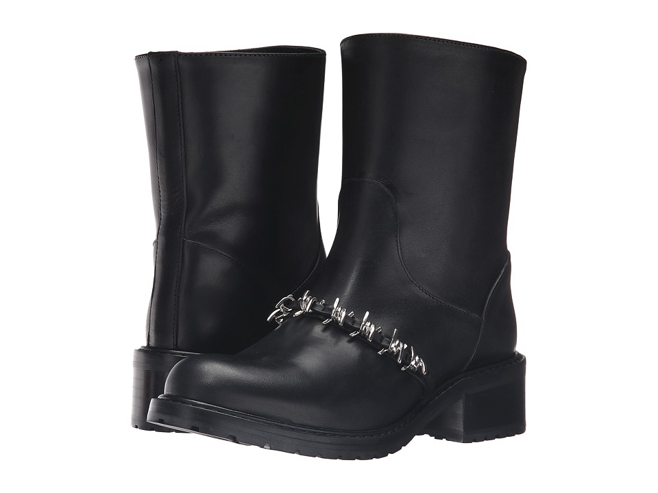 DSQUARED2 - Moto Boot (Black) Women's Boots