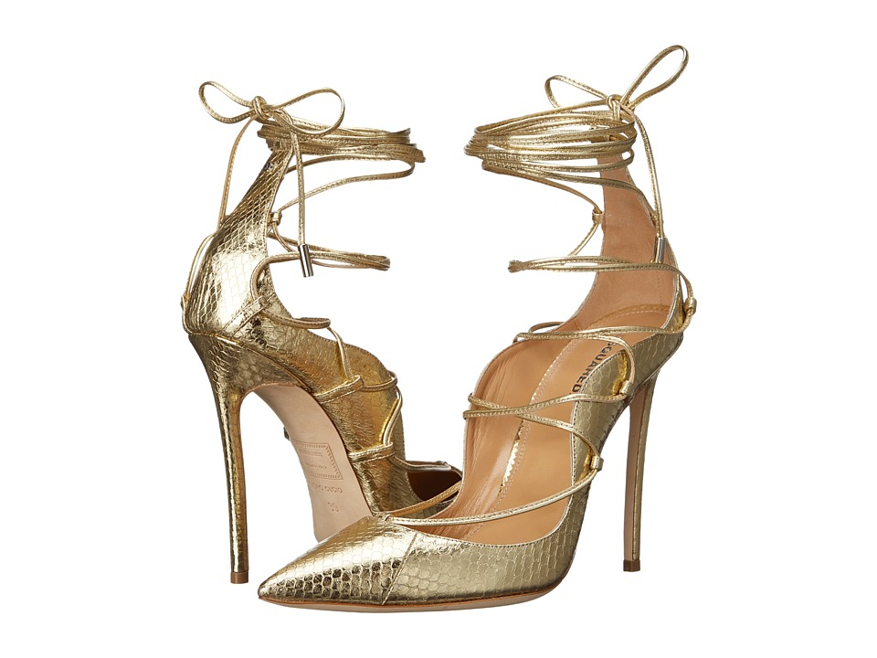 DSQUARED2 - Riri Strappy Pump (Gold) Women's Shoes