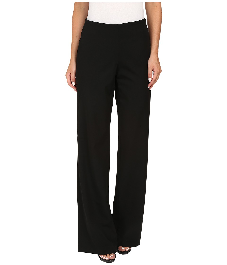 NYDJ - Alexis Wide Leg Trousers (Black) Women's Casual Pants