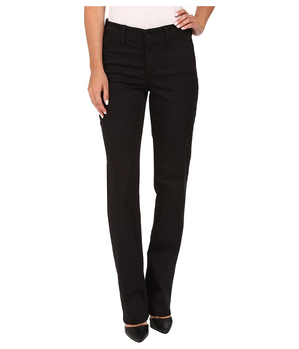 NYDJ - Marilyn Straight (Black) Women's Casual Pants