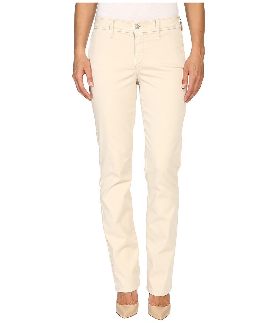 NYDJ - Marilyn Straight (Sand Dollar) Women's Casual Pants