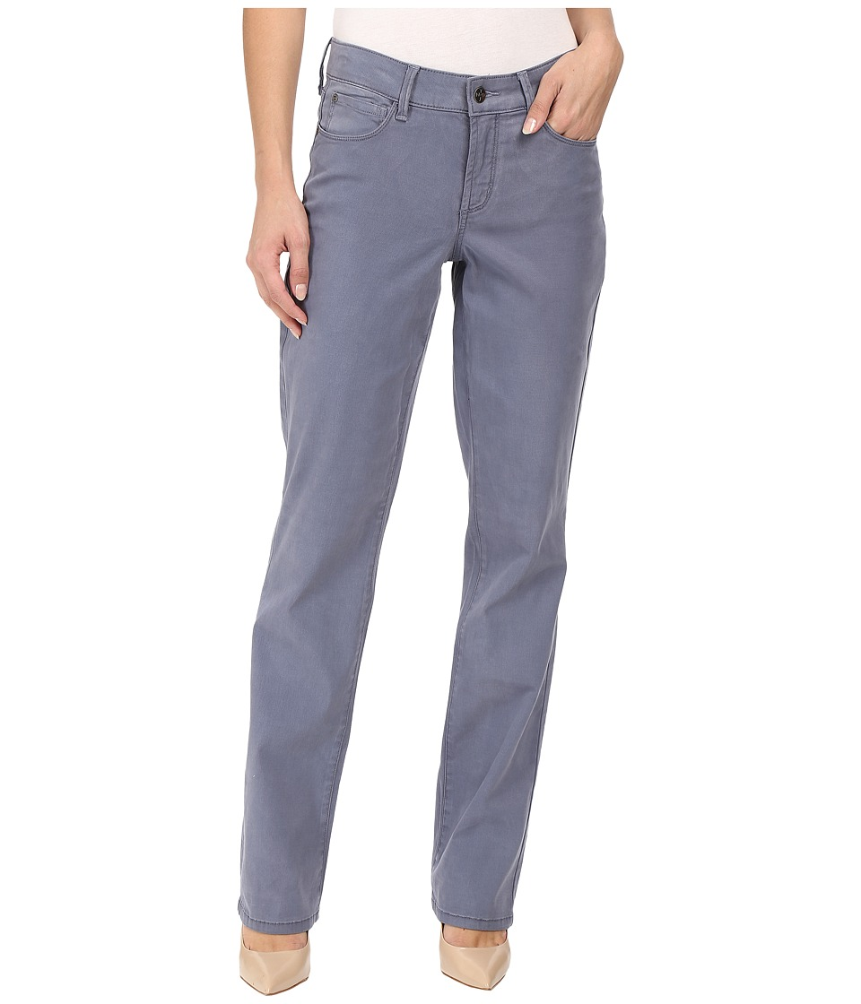 NYDJ - Marilyn Straight (Blue Basalt) Women's Casual Pants