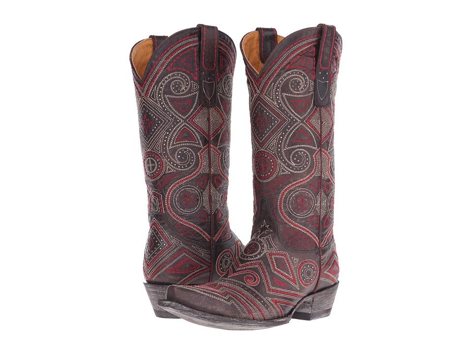 Old Gringo - Lerida (Chocolate) Cowboy Boots