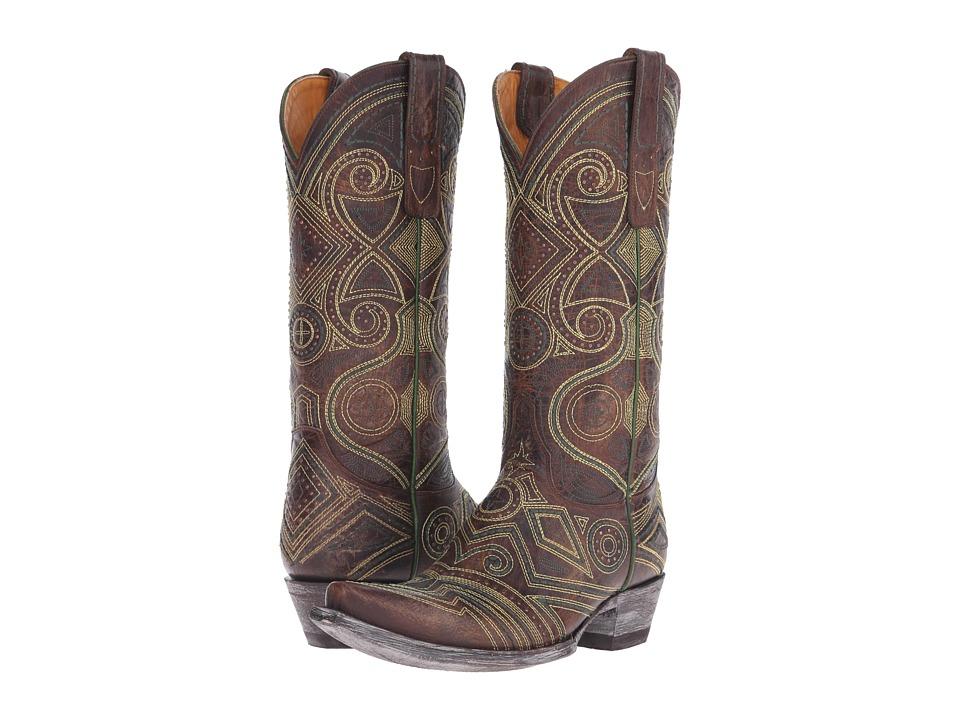 Old Gringo - Lerida (Brass) Cowboy Boots