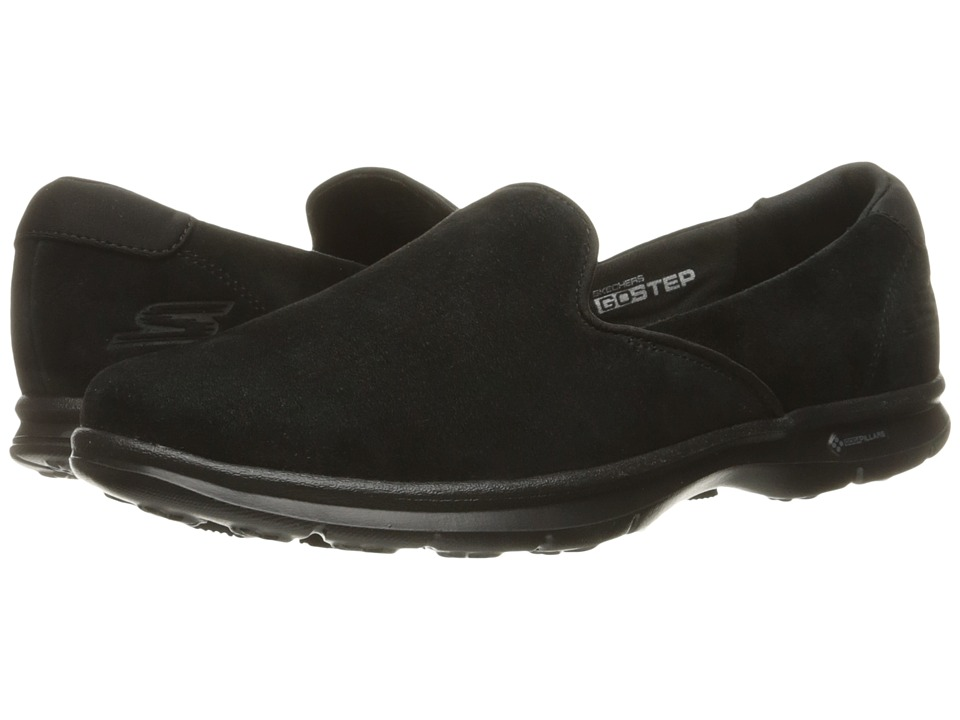 SKECHERS Performance - Go Step - Cheery (Black) Women's Slip on Shoes
