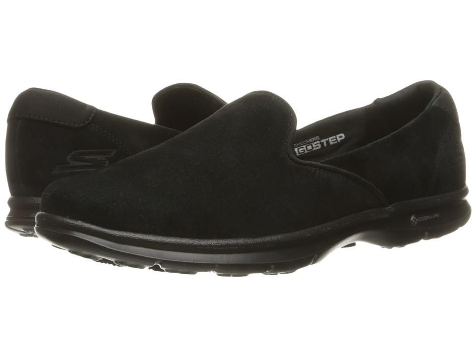 SKECHERS Performance - Go Step - Cheery (Black) Women's Slip on Shoes