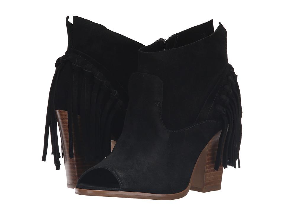 Marc Fisher LTD - Onita (Black Suede) Women's Shoes