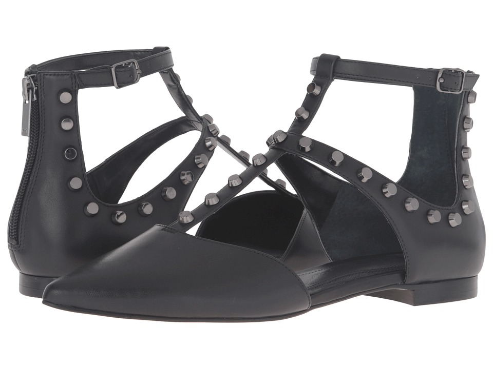 Marc Fisher LTD - Sava (Black Leather) Women's Shoes