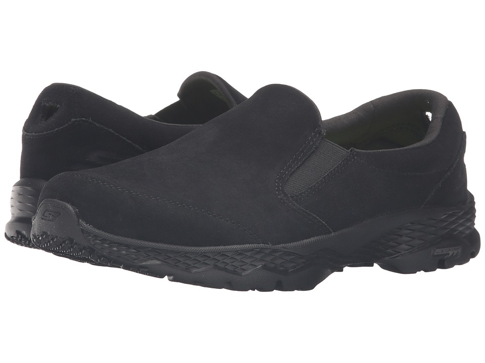 SKECHERS Performance - Go Walk Outdoor (Black) Women's Slip on Shoes