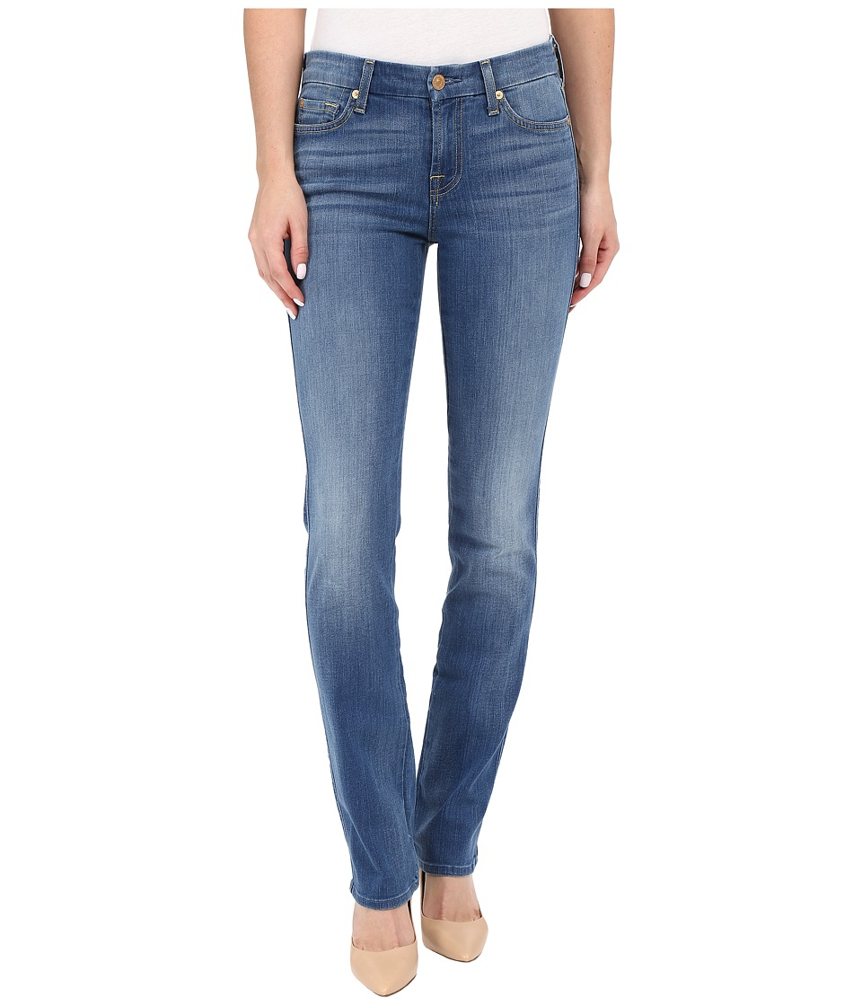 7 For All Mankind - Kimmie Straight in Supreme Vibrant Blue (Supreme Vibrant Blue) Women's Jeans