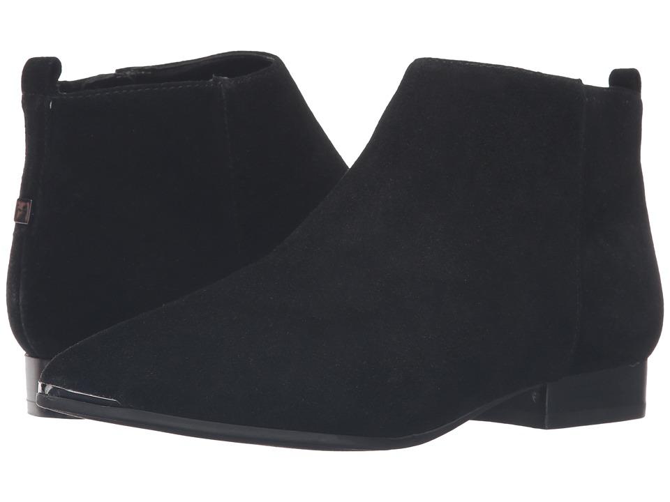 Marc Fisher LTD - Hilary (Black Suede) Women's Shoes