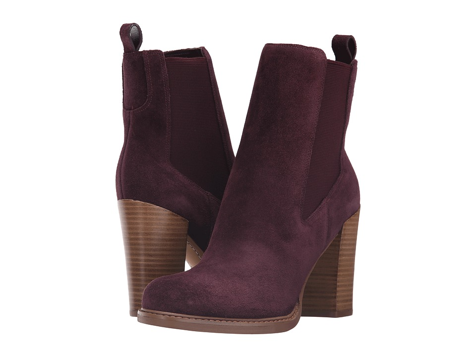 Marc Fisher LTD Harley (Burgundy Suede) Women