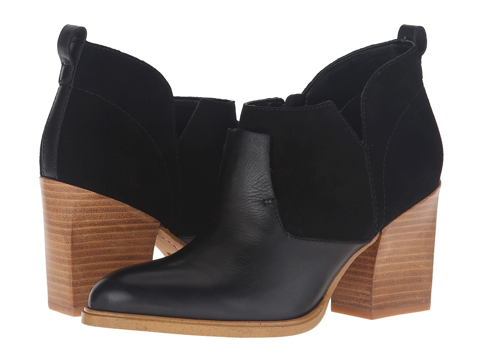 Marc Fisher LTD - Ginger (Black Leather/Suede) Women's Shoes