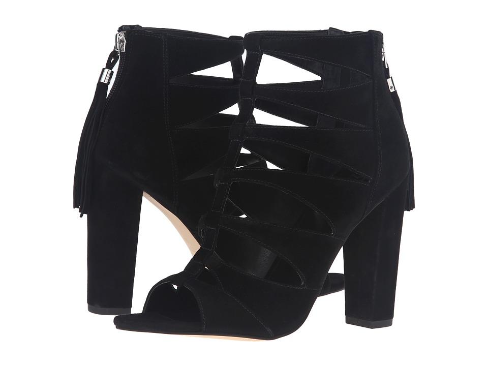 Marc Fisher LTD - Hindera (Black Suede) Women's Shoes