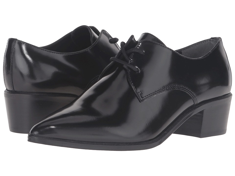 Marc Fisher LTD - Etta (Black Leather) Women's Shoes
