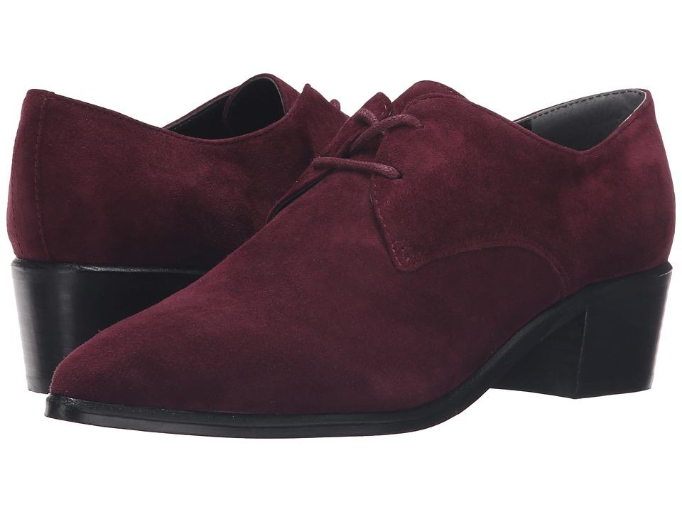 Marc Fisher LTD - Etta (Burgundy Suede) Women's Shoes
