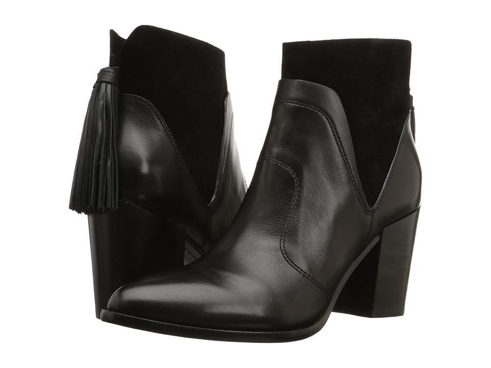 Marc Fisher LTD - Janay (Black Leather) Women's Shoes