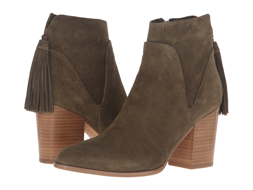 Marc Fisher LTD - Janay (Olive Suede) Women's Shoes