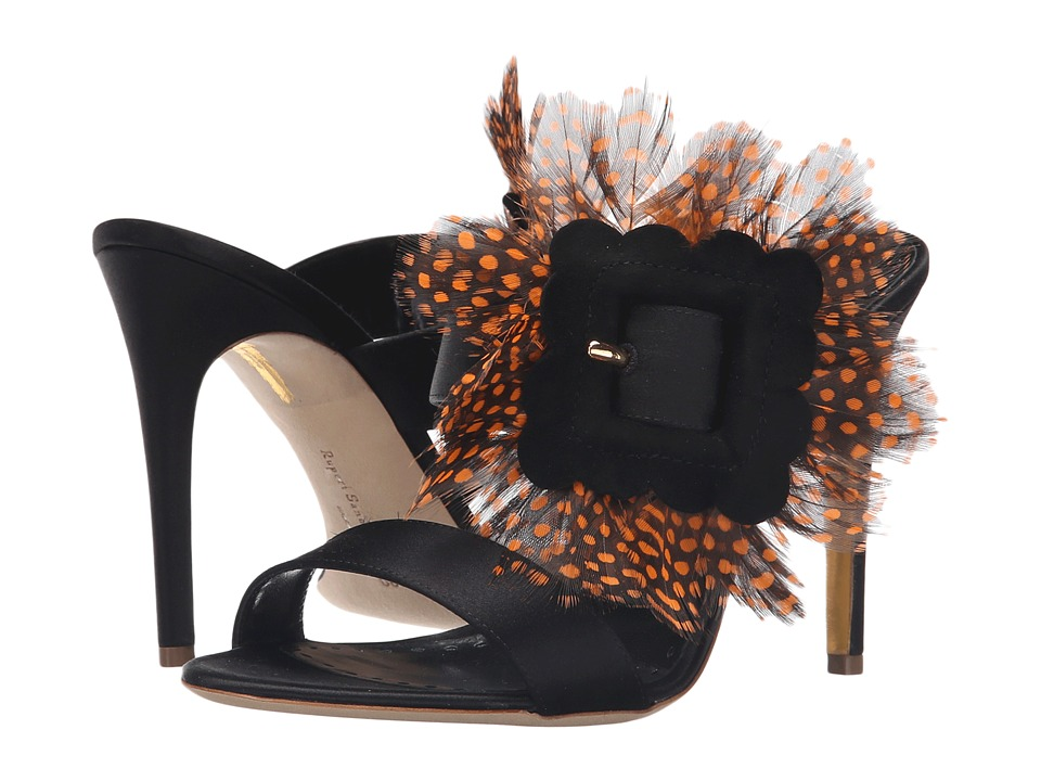 Rupert Sanderson - Flavus (Black Satin) High Heels
